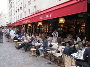Paris - Cafe Central on Rue Cler