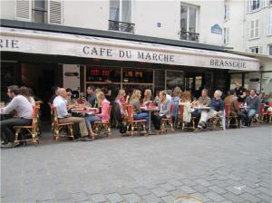 Paris - Cafe du Marche on Rue Cler